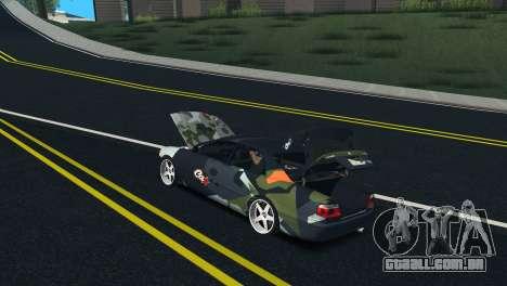 Toyota Chaser Tourer V Fail Crew para GTA San Andreas vista interior
