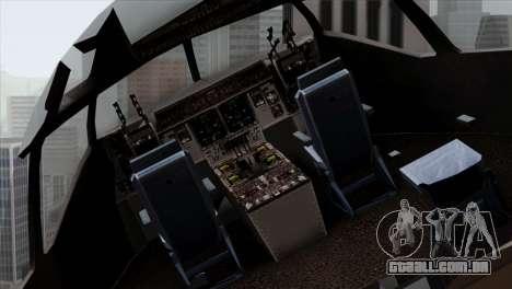 C-17A Globemaster III NATO para GTA San Andreas vista traseira