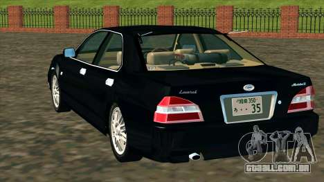Nissan Laurel GC35 Kouki para GTA San Andreas traseira esquerda vista