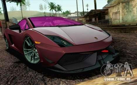 Lamborghini Gallardo LP570-4 Superleggera 2011 para GTA San Andreas