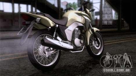Honda CG Titan 150 2014 para GTA San Andreas esquerda vista