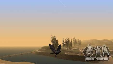 A possibilidade de GTA V para jogar bird V. 1 para GTA San Andreas quinto tela