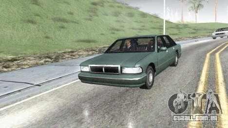 Estrada Reflexões Fix 1.0 для GTA San Andreas para GTA San Andreas terceira tela