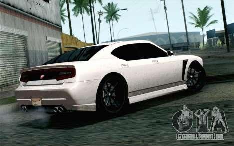 GTA 5 Bravado Buffalo S v2 IVF para GTA San Andreas esquerda vista