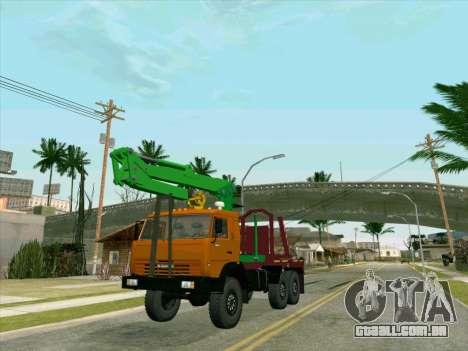 KamAZ 44108 Madeira para GTA San Andreas