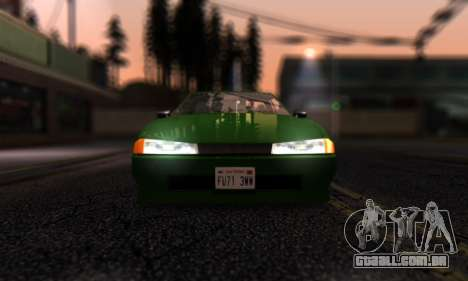 Elegy I Love GS v1.0 para GTA San Andreas vista interior