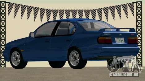 NISSAN Primera 2.0Te (P10) para GTA San Andreas esquerda vista