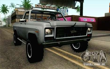 Pickup from Alan Wake para GTA San Andreas