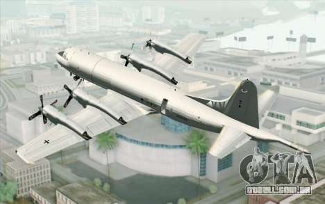 Lockheed P-3 Orion German Navy para GTA San Andreas esquerda vista