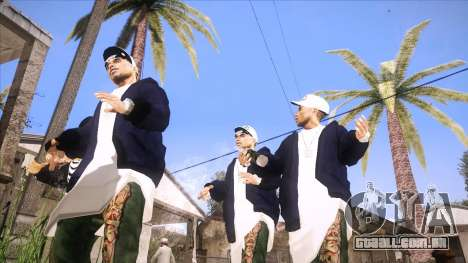 ENB Sunreal para GTA San Andreas terceira tela