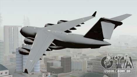 C-17A Globemaster III NATO para GTA San Andreas esquerda vista