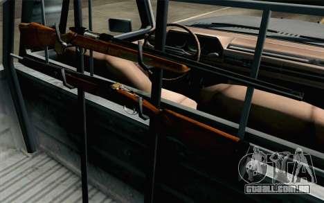 Pickup from Alan Wake para GTA San Andreas vista interior