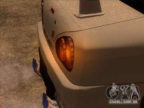 Elegy Skyline para GTA San Andreas traseira esquerda vista