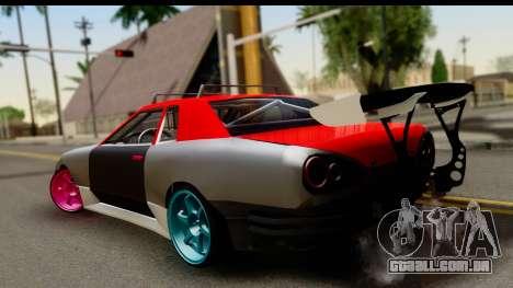 Drift Elegy Edition para GTA San Andreas esquerda vista