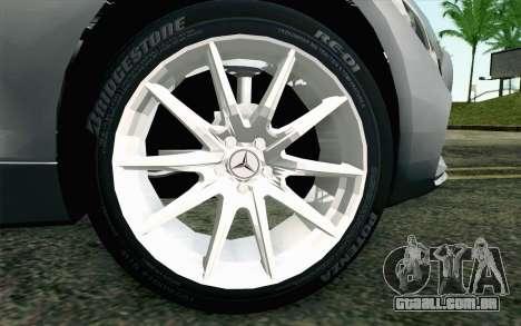 Mercedes-Benz AMG GT 2015 para GTA San Andreas traseira esquerda vista