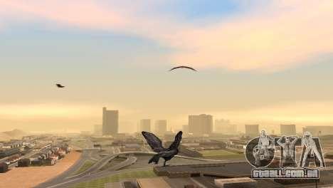 A possibilidade de GTA V para jogar bird V. 1 para GTA San Andreas segunda tela