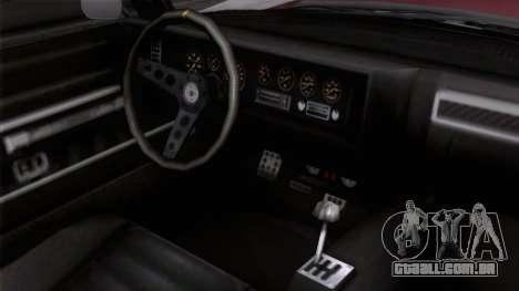 GTA 5 Invetero Coquette Classic TL para GTA San Andreas vista direita