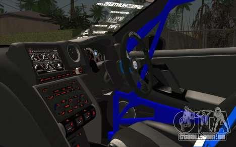 Nissan GT-R 2014 RocketBunny para GTA San Andreas vista direita