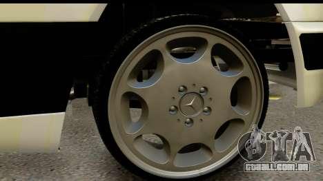 Mercedes Benz E320 W124 Coupe para GTA San Andreas vista traseira