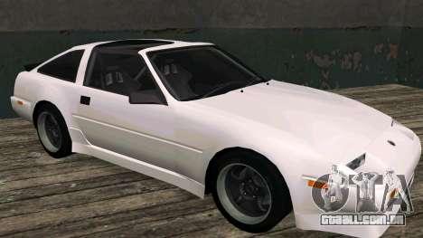 Nissan Fairlady Z 300ZX (Z31) para GTA San Andreas esquerda vista