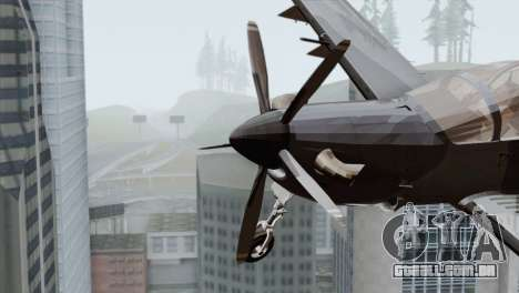 Embraer A-29B Super Tucano Marines para GTA San Andreas vista direita