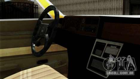 Ford Taunus 1981 Taxi Argentina para GTA San Andreas vista direita