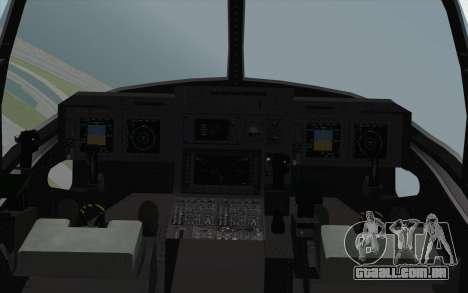MV-22 Osprey VMM-265 Dragons para GTA San Andreas vista direita