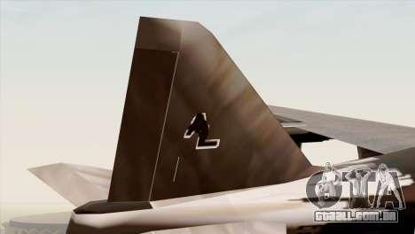 Hydra Eagle para GTA San Andreas traseira esquerda vista