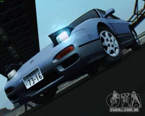 Nissan Silvia S13 para GTA San Andreas vista traseira