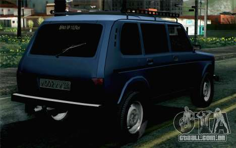 VAZ 2131 Niva 5D para GTA San Andreas esquerda vista
