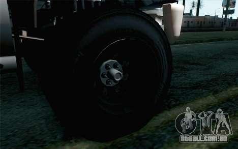 Vapid Guardian GTA 5 para GTA San Andreas traseira esquerda vista