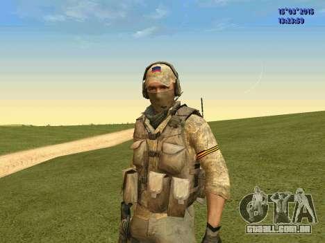 O policial da milícia de Moscou para GTA San Andreas