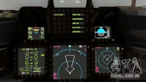 F-22 Raptor 02 para GTA San Andreas vista direita