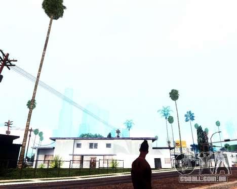 Light ENBSeries v1.0 para GTA San Andreas por diante tela