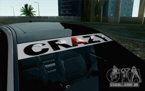 BMW 535i 2011 para GTA San Andreas vista traseira