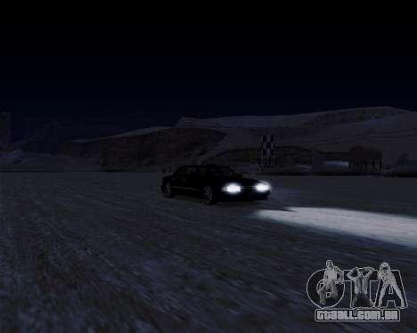 LineFlex ENBseries para GTA San Andreas por diante tela
