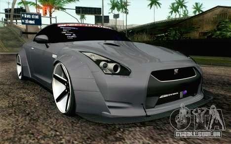 Nissan GT-R 2014 RocketBunny para GTA San Andreas
