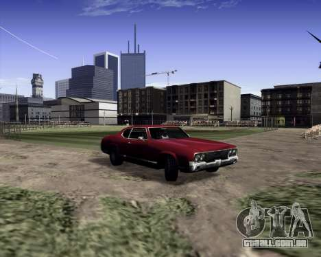 Medium ENBseries v1.0 para GTA San Andreas segunda tela