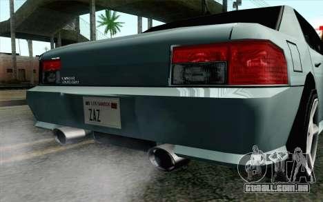 Sultan Lan Evo para GTA San Andreas vista direita