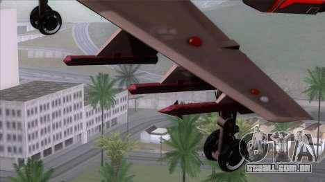 Shuttle v1 (wheels) para GTA San Andreas vista direita