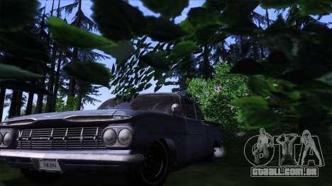 ENB Gamerealfornia v1.00 para GTA San Andreas por diante tela