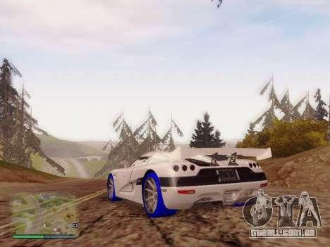Light ENBSeries para GTA San Andreas por diante tela