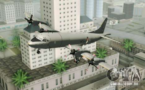 Lockheed P-3 Orion German Navy para GTA San Andreas