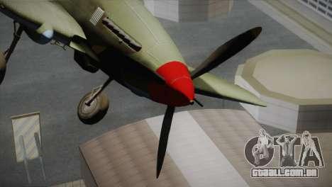 ИЛ-10 da Força Aérea dos Estados Unidos para GTA San Andreas vista direita