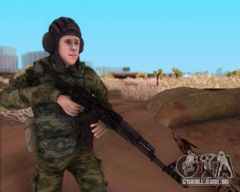 A Kalashnikov AK-74M para GTA San Andreas