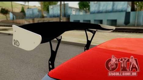 Drift Elegy Edition para GTA San Andreas vista traseira