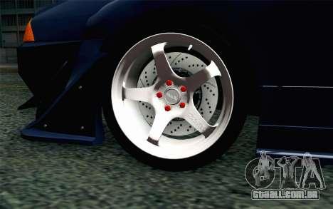 Elegy GP Sports G-SONIC EVO Kit para GTA San Andreas traseira esquerda vista