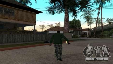 O Novo Coquetel Molotov para GTA San Andreas terceira tela