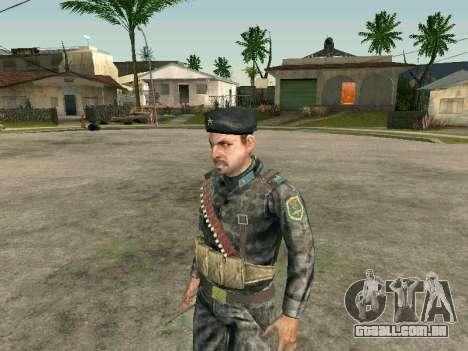 Cine forças especiais da URSS para GTA San Andreas segunda tela