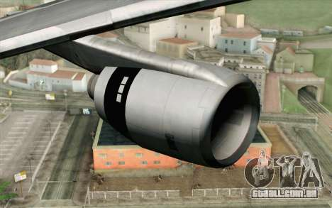 Lookheed L-1011 Iberia para GTA San Andreas vista direita